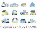 12套各種類型的房屋 77172296