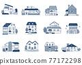 12套各種類型的房屋 77172298