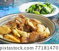 chinese food, shanghai, stewed cuisine 77181470