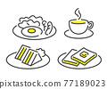 breakfast, set, sets 77189023