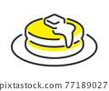 pancake, vector, vectors 77189027