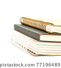 Stack of notebooks 77196489