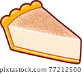 Melktert, South African milk tart 77212560