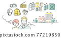 disaster prevention, vector, vectors 77219850