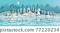 Travel China landmarks of Beijing, Shanghai, Taiwan, Xi'an, Macao, Taiwan. 77220234