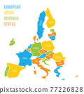 Simplified smooth map of EU 77226828