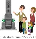 和家人一起去墳墓 77229533