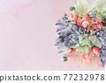 화려한 꽃 프레임 77232978