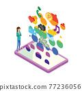 smart phone, smartphone, sumaho 77236056