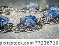 Bracelet with sodalite 77236719