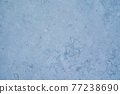 marbled travertine sandstone background texture with blue tint 77238690