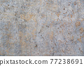 damaged grunge stone texture background with rusty metal look 77238691