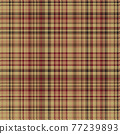 Tartan plaid pattern seamless. Print fabric texture. Check vector background. 77239893