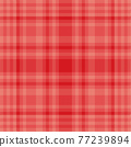 Tartan plaid pattern seamless. Print fabric texture. Check vector background. 77239894