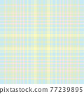 Tartan plaid pattern seamless. Print fabric texture. Check vector background. 77239895