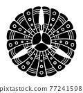 家族徽章 軍事指揮官 戰國 77241598