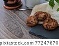 cookie, snack, sweet 77247670