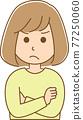 矢量 女生 女孩 77250060