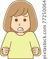 矢量 女生 女孩 77250064