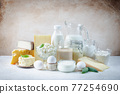 Fresh dairy products 77254690