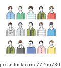 youngster, illustration, vector 77266780