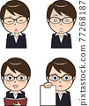 facial expression, vector, vectors 77268187