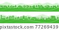 城市風光 城市景觀 市容 77269439