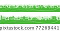 城市風光 城市景觀 市容 77269441