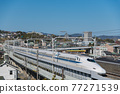 bullet train, shinkansen, the tokaido shinkansen line 77271539