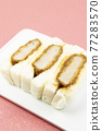 三明治 麵包 白板 77283570
