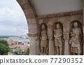 匈牙利 布達佩斯 橋 77290352