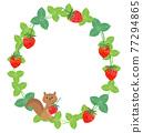 草莓框架 77294865
