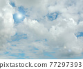 Cloudy sky background 77297393