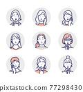 女生 女孩 女性 77298430