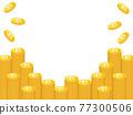 矢量 比特幣 錢幣 77300506