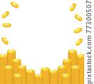 矢量 錢幣 硬幣 77300507