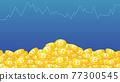 矢量 錢幣 硬幣 77300545