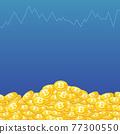 矢量 錢幣 硬幣 77300550