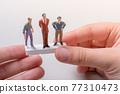 Tiny figurines of men model  in view 77310473