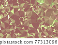 Abstract textured Yellow polygonal background. low poly geometric consisting of triangles of different sizes and colors. use in design cover, presentation, business card or website. 77313096