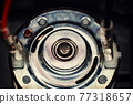 Electric motor top part with plug 77318657