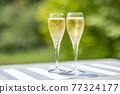 香檳 香檳杯 含汽葡萄酒 77324177