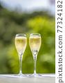 香檳 香檳杯 含汽葡萄酒 77324182