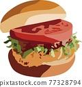 Hamburger 77328794