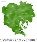 東京 日本地圖 地圖 77328883