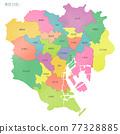 東京 日本地圖 地圖 77328885