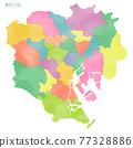 東京 日本地圖 地圖 77328886