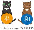 動物 俄羅斯藍貓 淺藍色 77330495