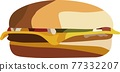 cheeseburger 77332207