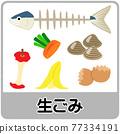 蔬菜 矢量 魚 77334191